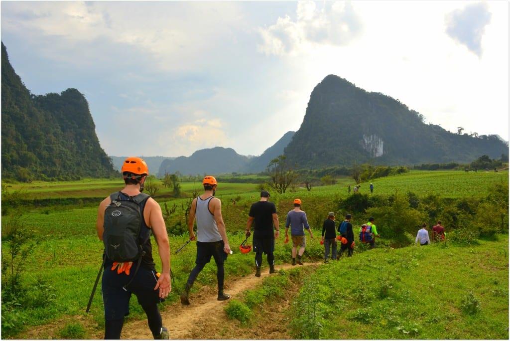 Phong Nha cave hike