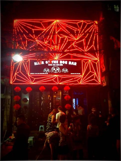 Hair of the dog bar Hanoi