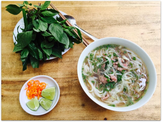 pho in Saigon Vietnam