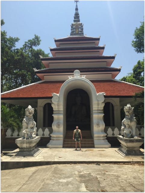 Chiang Mai temple Mike Cernovich