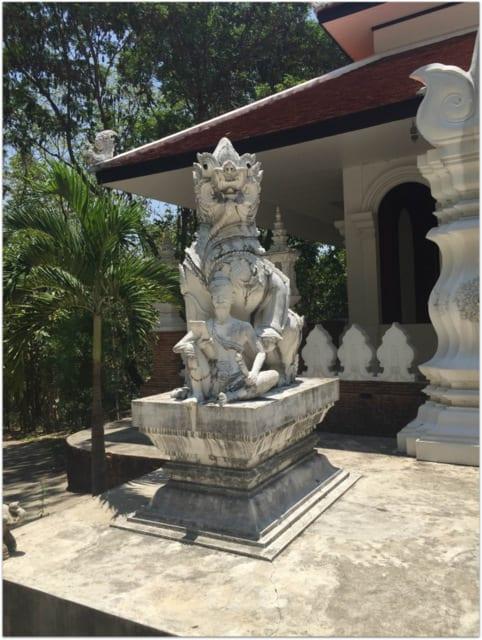 dragon Chaing Mai temple
