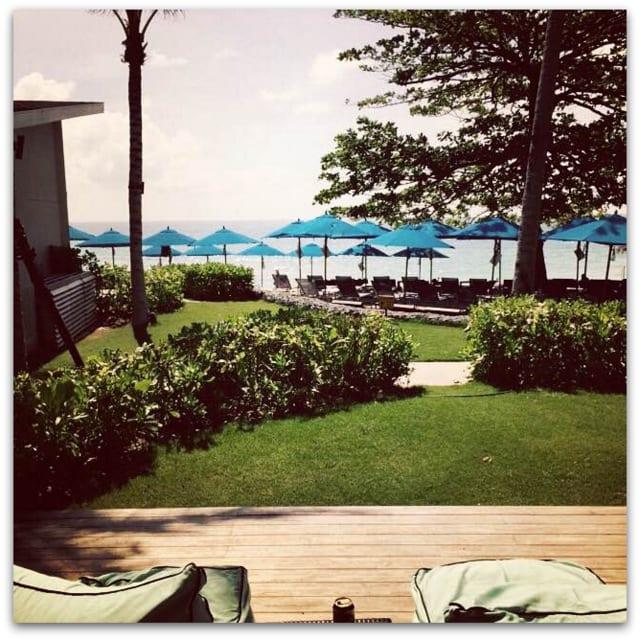 Koh Samui hotel view