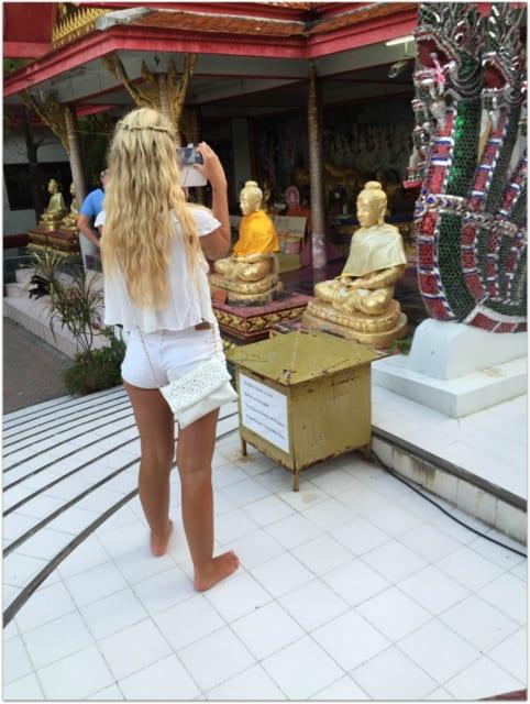 Koh Samui monks temple